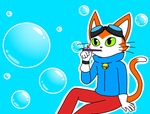 Bubbling by catgirl140