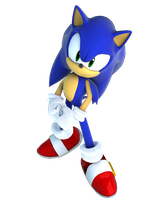 sonic adventure DX pose by criselerizo