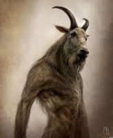 Satyr Concept 2 by aaronsimscompany