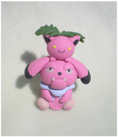 Snubbull and Hoppip