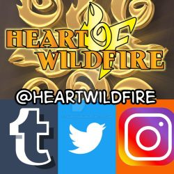 Heart Of Wildfire - Social Media Accounts by FallenAngelGM