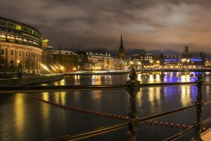 Stockholm night mode by silentmemoria