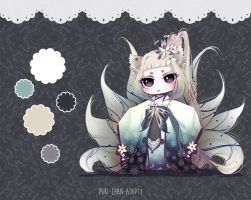 [CLOSED TY] Adoptable Auction 49 - Kimonomimi by Puripurr