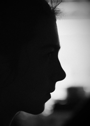 Silhouette Profile by todaywiththeCJB