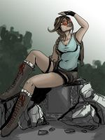 Lara Croft - Old School Classic by littlesusie2006