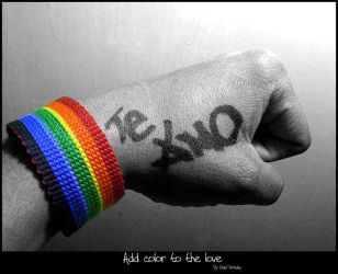 Add Color to the love by OCL