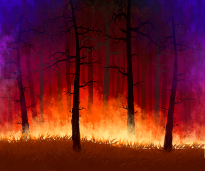 Fire Forest by ICS1999