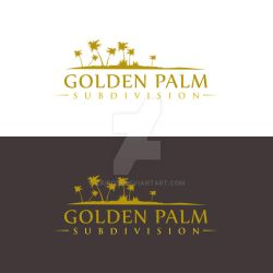 Golden Palm Subdivision Proposed logo1 by zaido12 by zaido12