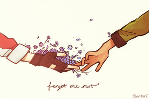 Forget Me Not by Elentori