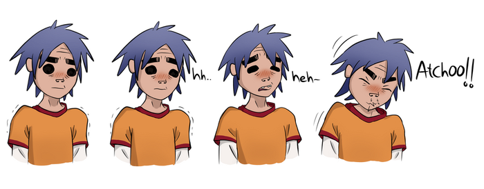 2D sneeze by MucoManiac