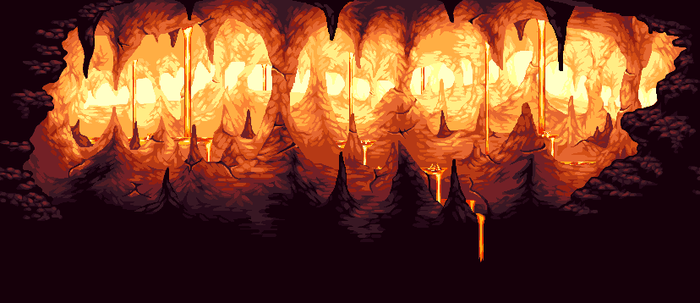 Hell Background by Pukahuna