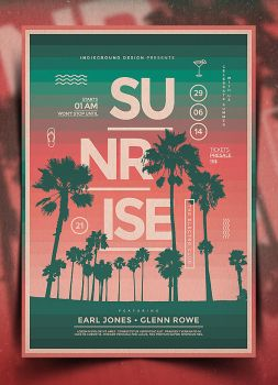 Summer Poster Template Vol. 4 by IndieGround
