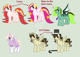 OPEN 1$ Assorted MLP Adopts by Arxielle