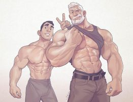 Hunks of the week #55 by silverjow