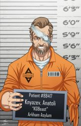 Anatoli Knyazev locked up (Earth-27) commission by phil-cho