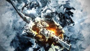 Killzone Shadow Fall - ISA/VSA Wallpaper by TheSyanArt