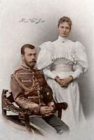 Tsar and Tsarina of Russia by Linnea-Rose