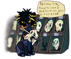 .:Packrat-Evoloon Prompt #5:. by XKSilver