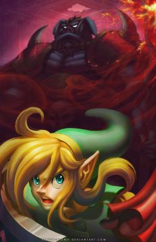 A Link to the Dark World by SoyUnGnomo