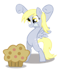 Derpy Hooves on the Attack by BonesWolbach