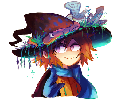 Salamander Witch by Andgofortheroll-123