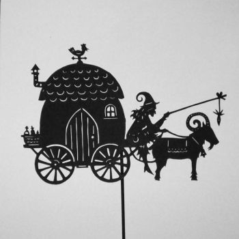 the witch's caravan by PaperTales