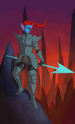 Another Undyne by PancrythePancreas5