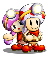 Captain Toad by Dee-Artist