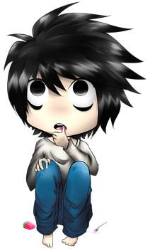 Death Note L Chibi by Bootsii