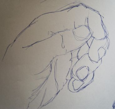 Quick Hand Sketch by Dxt85
