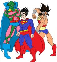JusticeBall Z Group 1 by Axel-Knight