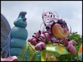 Disney's AIW Cheshire cat by Clockheart