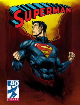 Superman By Wendell Cavalcanti Color  Miguel Rude by miguelrude