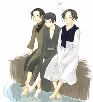 Wang+Kiku+Yongsoo by saku03