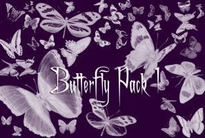 Butterfly Brushes Pack 1 by Gothic11Shadow