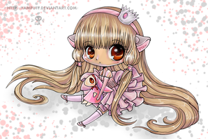 Mini Chibi Chi Lineart by *YamPuff Reloaded by Suiish