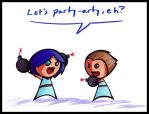 PARTY-ARTY EH by SelanPike
