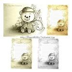 Letterhead Teddy Bear by Rinmeothichca