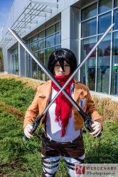 Mikasa by MercPhotography