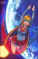 Supergirl Commission by ParisAlleyne