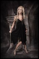 Bianka Does Black Dress Formal by DeviantDesires