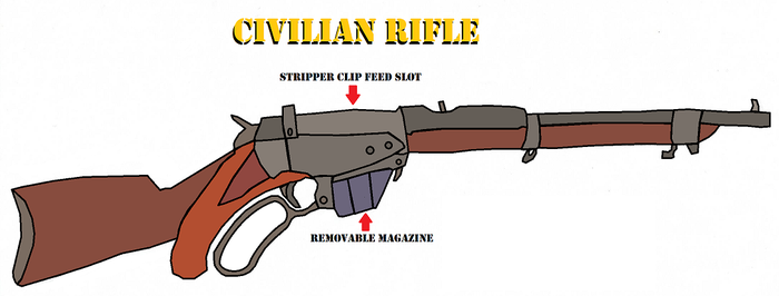 Sonic Steam Arnements: Part 2 of ?: Civilian Rifle by IWasATennageDilbert