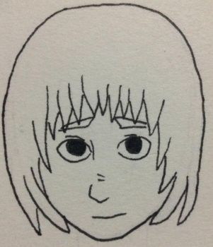 Inktober day 3 (LATE): Armin doodle by E7E