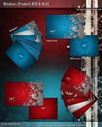 Windows Product Red and Blue by ArchangelX2