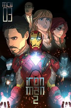 MCU VOL 03: IRON MAN 2 by DuckLordEthan