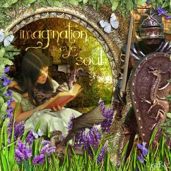 Imagination is the Eye of the Soul by A-Tainted-Rebel