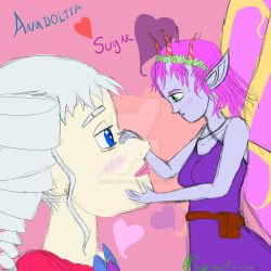 Anadoltia and Sugar (V-Day Special) by DFroGGotten1