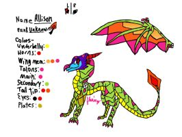 Allison's Dragon Digital Reference by FlamingGatorGirl