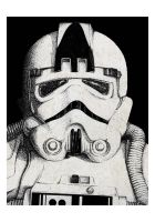 Stipple trooper. by SixPixeldesign