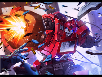 TRANSFORMERS: Ironhide by kevinTUT